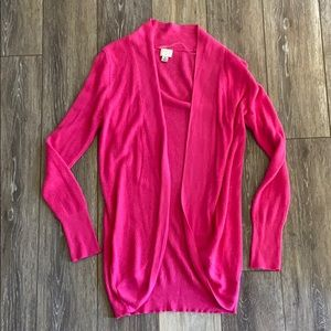 Cute Hot Pink Cardigan A New Day